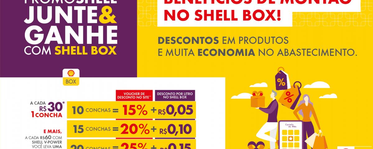 Marca Shell lança promoções que darão descontos em combustíveis e em produtos selecionados em hotsite da Casas Bahia, além de créditos para motoristas de caminhão