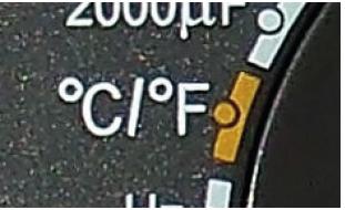 TERMÔMETRO - Equipamento para medir temperatura C/F do multímetro automotivo