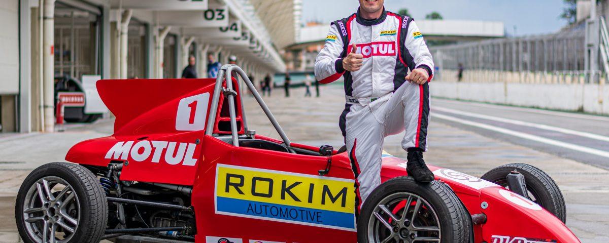 Motul anuncia patrocínio a Laurent Guerinaud, piloto da Fórmula VEE Brazil
