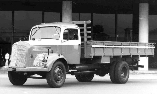 L 312, primeiro caminhão fabricado no Brasil - Foto: Divulgação