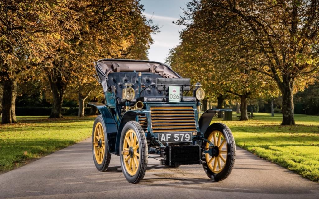 Primeiro Carro produzido pela FIAT, o Fiat 3½ HP