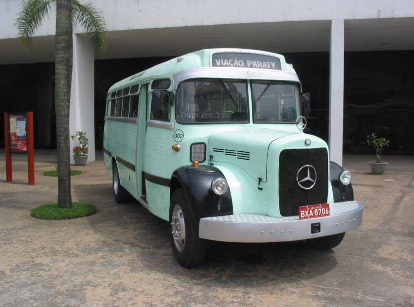 Primeiro Ônibus nacional, que também compartilhava o mesmo chassi do L 312