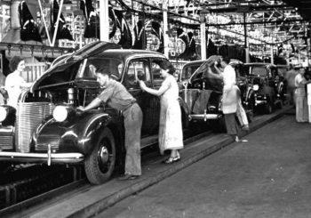 montadora ford história da linha de montagem