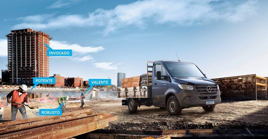 Mercedes-Benz Vans anuncia o Sprinter Truck