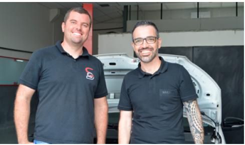 Alexander Staff- Staff Motors e André Moura de Oliveira Promax Bardahl