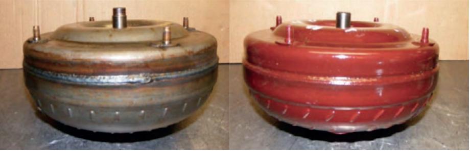 Instalação do Conversor de torque